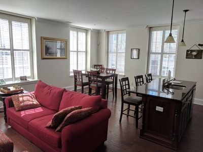 Great Room with fold out couch