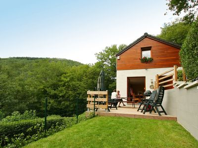 Photo for Cottage with a terrace and a magnificent view of the valley.