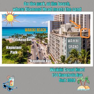 Photo for AT WAIKIKI BEACH OVERLOOKING THE PARK!