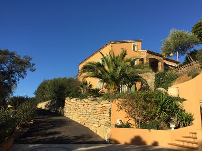 Photo for VILLA CLASSEE 4 **** WITH HEATED SWIMMING POOL - SAUNA- JACUZZI - SEA VIEW AND HILL