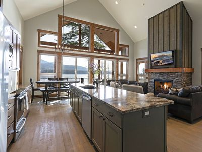 Photo for Whitefish Lakefront Oasis - Immaculate Whitefish lakefront home with dock