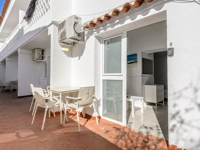 Photo for Holiday Apartment in a Well-Maintained Complex with Wi-Fi and Terrace