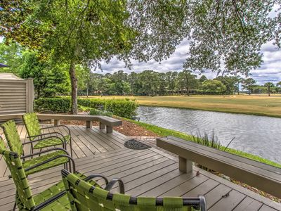 Photo for 190 Twin Oaks-WOW! View of the famous Harbour Town Golf Links/FULLY RENOVATED