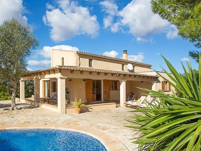 Photo for Can Busquerets - Villa With WIFI, Private Pool, BBQ & A/C.