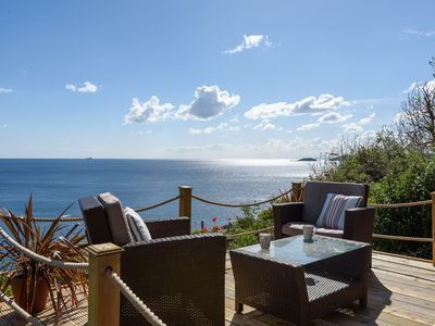 Photo for Great retreat for two with superb sea views.