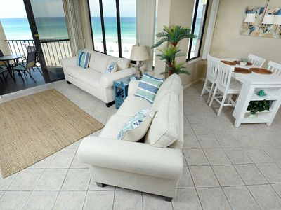 Photo for Renovated 2018, Ocean Front, Amazing Views, WiFi, King Bed- Largest Floorplan