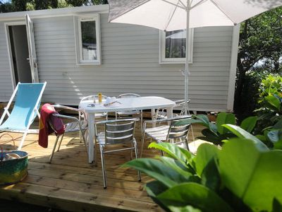 Photo for Camping Les Acacias **** - Mobilhome for 6 People