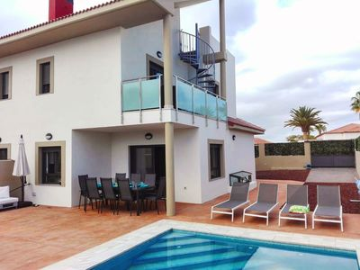 Photo for Casa de Marina is a luxurious villa by the sea with a rooftop, pool & much more!