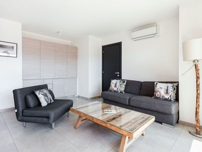 Photo for Nice apartment for 4 people with pool, WIFI, A/C and TV