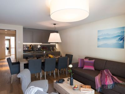 Photo for Apartment Peaks Place in Laax - 6 persons, 3 bedrooms