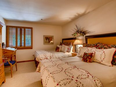 Photo for Charming accents throughout this two-bedroom, three-bath residence will make you feel right at home