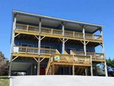 Photo for Ocean View, EASY beach access, close to shopping!