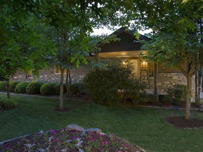 Photo for The Rosewood; Close to downtown Asheville.  Hot tub, fireplace and other amenities.