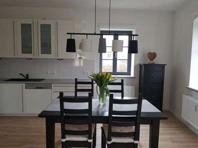 Photo for Dream apartment right on the Elde, perfect for couples and small families