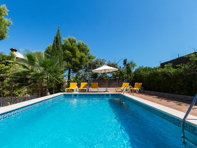 Photo for Lovely modern villa closed to the beach in Cala San Vicente.