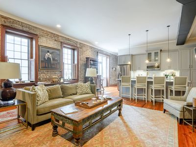 Photo for Luxury 1br/1.5 ba Apt. in the Heart of Charleston's French Quarter!