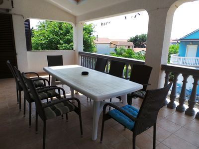 Photo for Holiday apartment with large terrace and SAT-TV