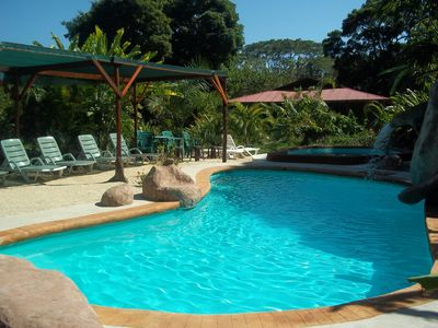 """Photo for New Listing! Lovely """"mini resort"""", 3 bedrooms, pool and more"""