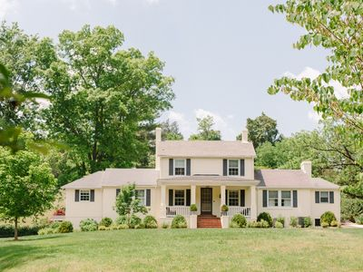 Photo for 11-acre Rustic Farm House & Cottage In Beautiful Central Virginia