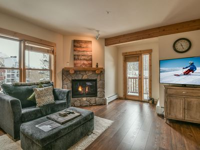 Photo for Walking distance to the Peru lift, outdoor hot tubs, ski slope views!