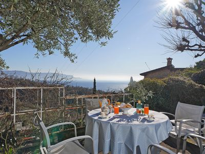 Photo for Splendid location for 2 people with amazing lake view in Toscolano