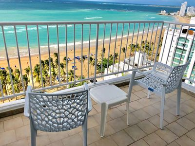 Photo for One bedroom Ocean Front with Balcony