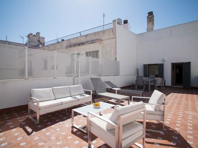 Photo for Gorgeous 3 Bedroom penthouse at the best location, Big Private terrace