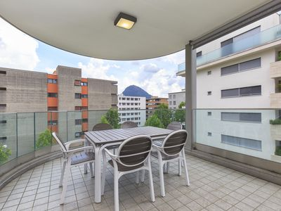 Photo for Amazing three-room apartment 5 minutes' walk away from the lakefront of Lugano - PRESTIGE DU LAC  34