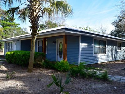 Photo for The BEACH with a country feel on 3/4 of an acre!!!!