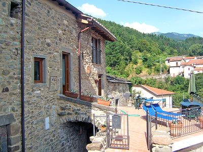 Photo for Vacation home Ca' di Luna  in Pontremoli, Versilia, Lunigiana and sourroundings - 6 persons, 3 bedrooms