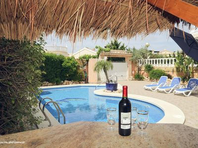 Photo for 6 person villa with private pool Monte y Mar, Gran Alacant (Santa Pola).