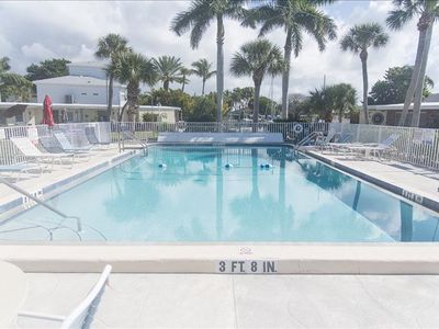 Photo for Ground Level 3 Bedroom / 2 Bath Condo with Heated Pool and Boat Docking Near Stump Pass on Manasota Key!