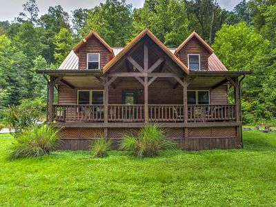 Photo for Brookside 3BR Red River Gorge Home w/Master Suite!