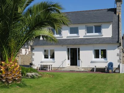 Photo for Large house, with garden at the center of PERROS GUIREC