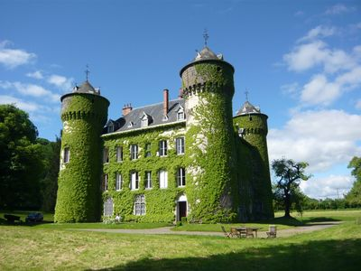 Photo for Castle Sédaiges in Cantal for 25 people