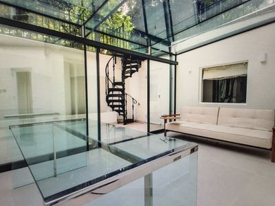 Bright and comfortable conservatory