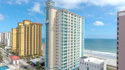 Photo for Oceanfront Suite with Private Balcony | Free Breakfast + Hot Tub Access