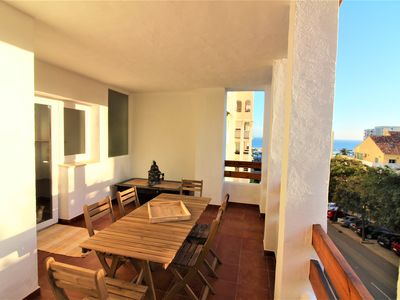Photo for ANDALOUSIA - COMPLETELY RENOVATED APARTMENT 6 PEOPLE FOR RENT WITH SEA VIEW