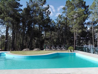 Photo for Casa do Távora - Spacious holiday home with pool and unique views!