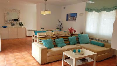 Photo for MEDITERRANEAN HOUSE IN CAMBRILS VERY CLOSE TO THE BEACH