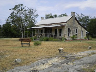 Photo for 1870s Limestone And Cypress 3 Bedroom 2 Bath