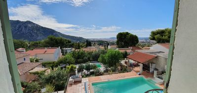 Photo for Charming accommodation in a 1741 building with a breathtaking view