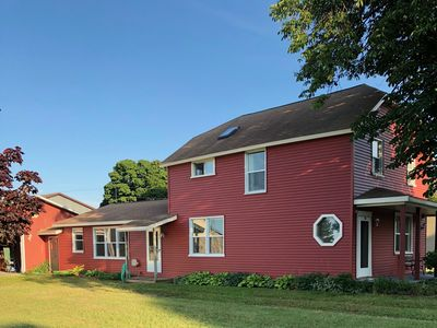 Photo for Big Red a newly renovated 4 bedroom historic home in the heart of Grand Marais!