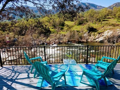 "Photo for *Specials* Stunning Main Fork ""Kaweah River House"" -1/2 Mile to Sequoia Park"