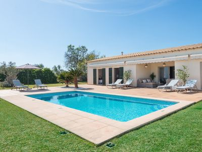 Photo for SA FINCA - Villa with private pool in MURO.