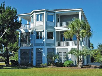 Photo for Sandy Paws Beach House: 5 BR / 4 BA house in Pawleys Island, Sleeps 10