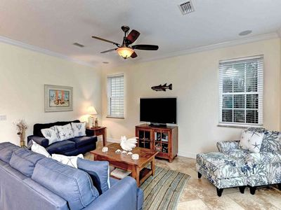 Photo for Dog-friendly beachside family home w/private pool - close to dining & shopping