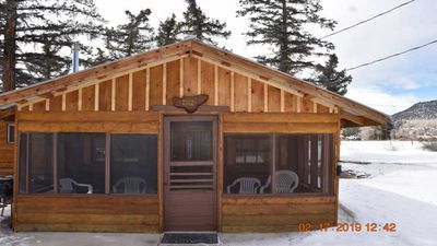 Photo for Beautiful Moose Lodge Cabin