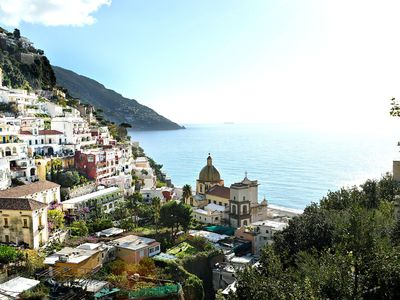 Photo for Villa in Positano with 4 bedrooms sleeps 7