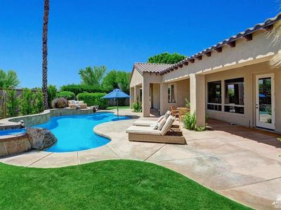 Photo for Coachella, StageCoach, Golf, Tennis / Private Desert Oasis : Pool & Spa